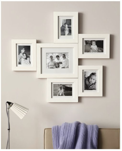 photo frame arrangement | refresh design: the blog