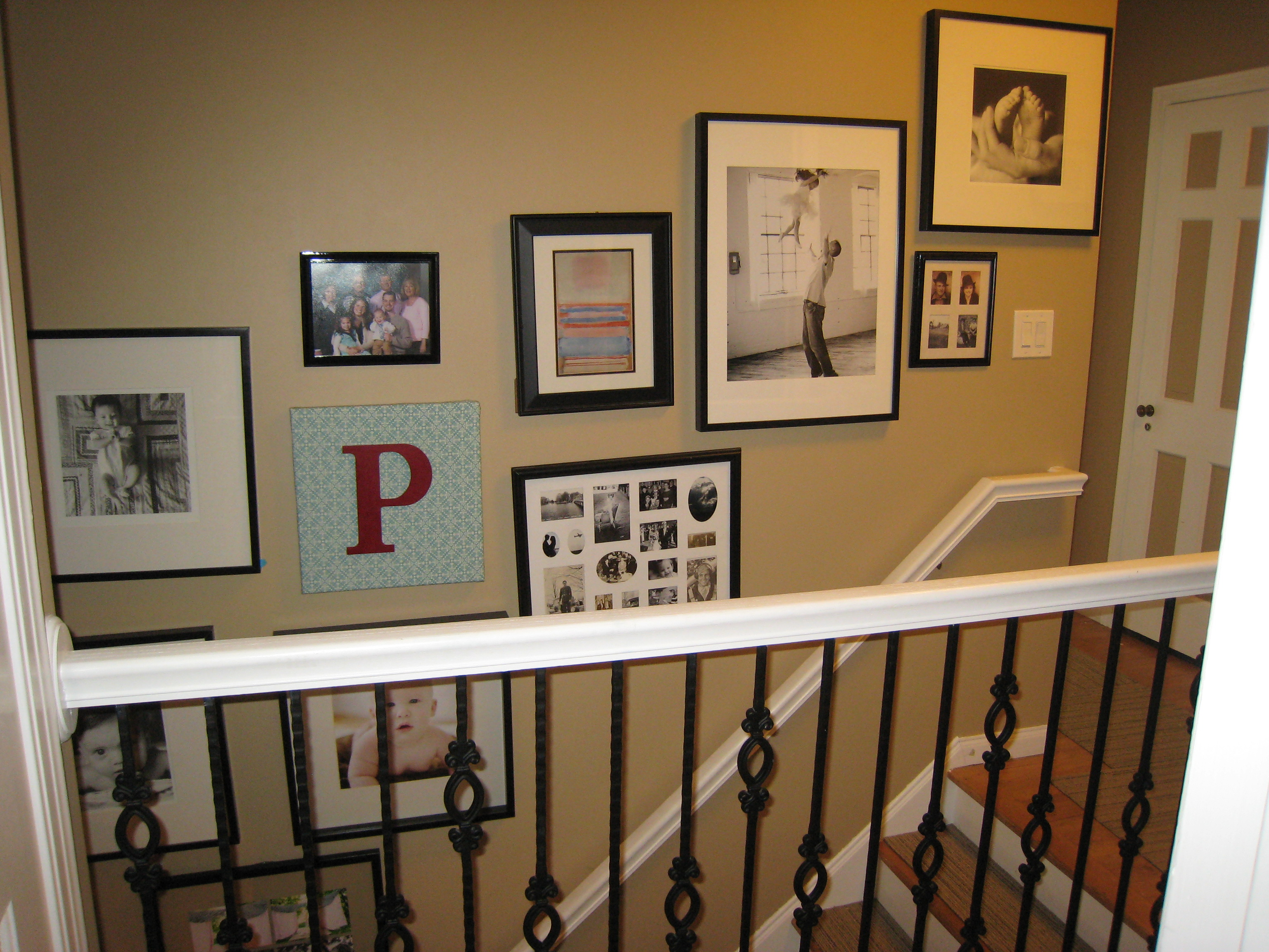 family photo wall | refresh design: the blog